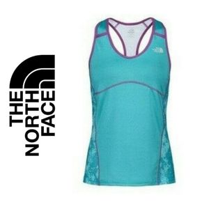 The North Face Athletic Tank Top Teal and Purple